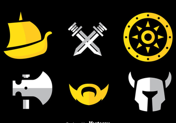 Barbarian Icons Vector - Free vector #366291