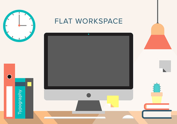 Free Vector Workspace - vector gratuit #366401