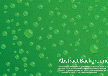 Water Drop Background - vector #366621 gratis