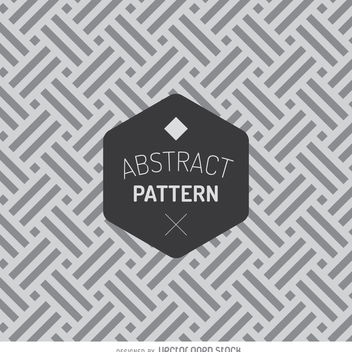 Geometric abstract pattern - Free vector #366691
