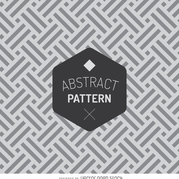 Geometric abstract pattern - vector gratuit #366691