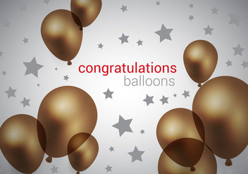 Free Brown Balloons Vector - бесплатный vector #366941