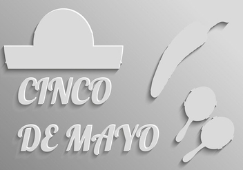 Free Elements For Cinco De Mayo Vector - бесплатный vector #366981
