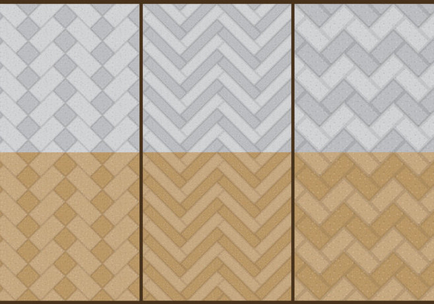 Stone Herringbone Patterns - Free vector #367021