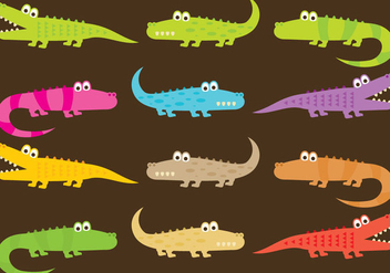 Gator Cartoons - vector #367041 gratis