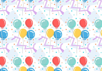 Free Balloons Pattern #5 - Free vector #367141