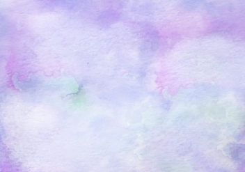 Purple Free Vector Watercolor Texture - Kostenloses vector #367421