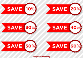 Product Discount Vector Tags - Free vector #367481