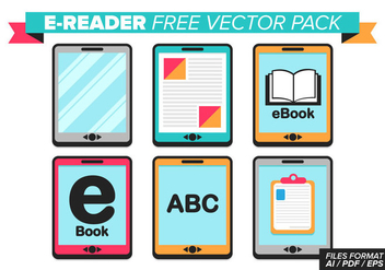 Ereader Free Vector Pack - Free vector #367731