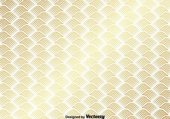 Vector Gold Pattern On White Background - vector gratuit #367811