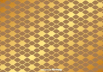 Vector Gold Seamless Pattern - vector gratuit #367851
