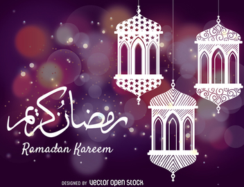 Ramadan celebration drawing - бесплатный vector #367921