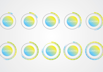 Buffer Icons - vector #368151 gratis