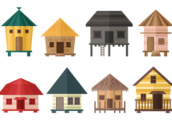 Free Shack Icon Vector - vector #368211 gratis