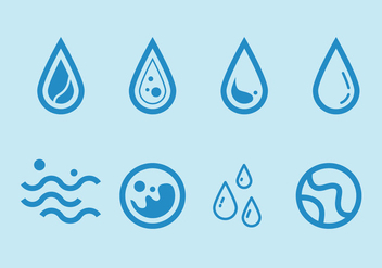 Free Water Vector Graphic 1 - vector #368361 gratis