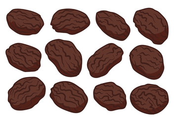 Free Raisins Vector - бесплатный vector #368591