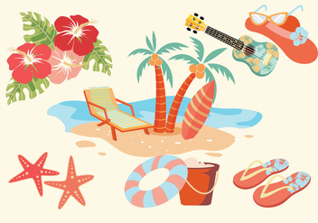 Hawaii Vectors - Free vector #368981