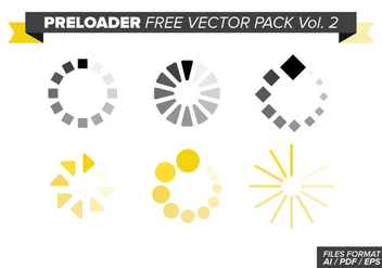 Preloader Free Vector Pack Vol. 2 - vector #369061 gratis