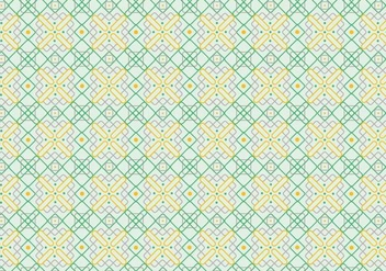 Outlined Decorative Pattern Background - vector #369301 gratis
