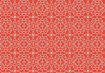 Decorative Outline Pattern Background - vector gratuit #369831