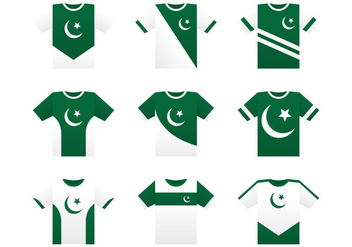 Pakistan Jersey Concept - Free vector #369841