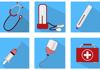 Doctor Stuff Icon - Free vector #370091