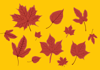 Vector Leaf - Free vector #370131