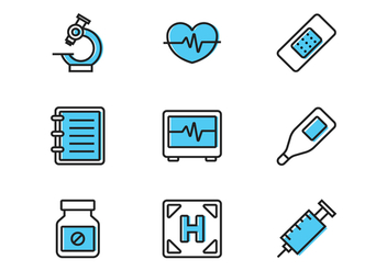 Line Medical Icon - Free vector #370381