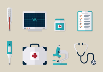 Hospital Tools - vector #370391 gratis