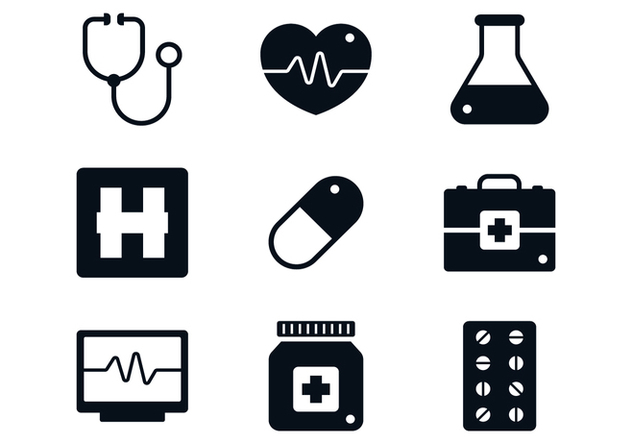 Medical Icon Set - Free vector #370441