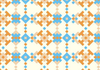 Native Traditional Pattern Background - vector gratuit #370481