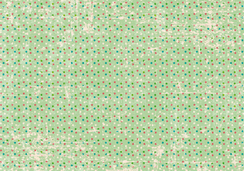 Grunge Polka Dot Background - vector #370491 gratis