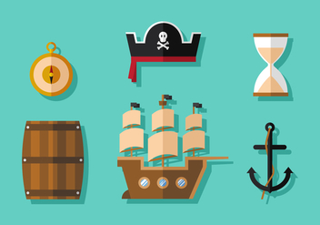Vector Pirates - Free vector #370831