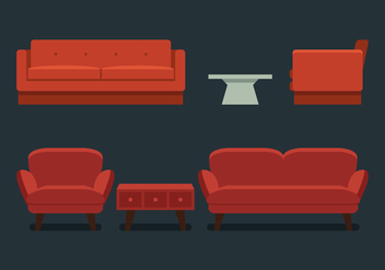 Vector Furniture - Free vector #370871
