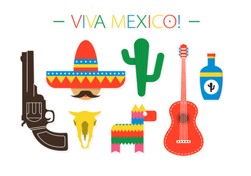 Free Mexico Vector Elements - бесплатный vector #370911