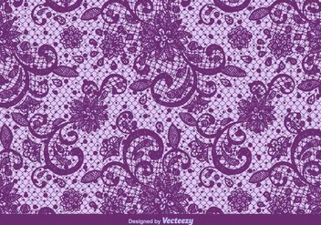 Vector Purple Lace Texture - Free vector #370931
