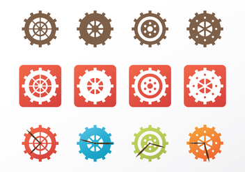 Free Clock Parts Vector - vector #371151 gratis