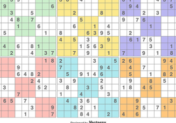 Vector Sudoku Puzzle Game - Free vector #371191
