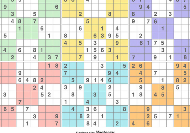 Vector Sudoku Puzzle Game Free Vector Download 371191   CannyPic