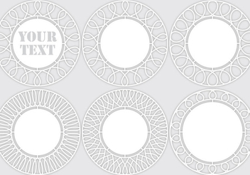 Laser Cut Templates - vector gratuit #371351