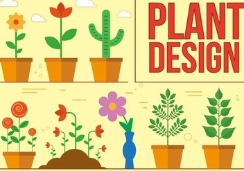 Free Plant Vector Design - Free vector #371581