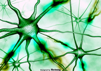 Abstract Neurons Background Vector 3D Background - vector gratuit #371641
