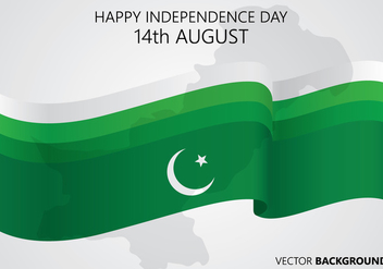Pakistan Day Background - vector gratuit #371731