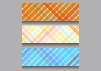 Free Vector Colorful Headers - бесплатный vector #371791