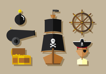Vector Pirates - Free vector #371801