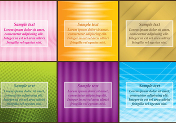 Gradient Templates - vector gratuit #372141