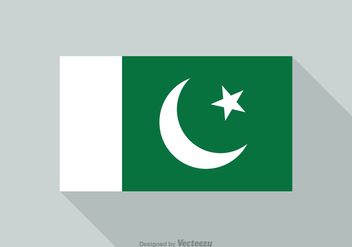 Free Vector Pakistan Flag - бесплатный vector #372201