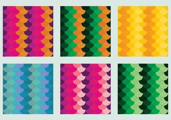 Free Fish Scales Vector Pattern 2 - vector gratuit #372231