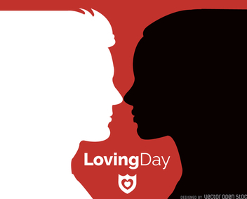 Loving Day card - vector #372341 gratis