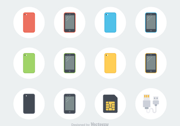 Free Smartphone Vector Icons - Free vector #372481